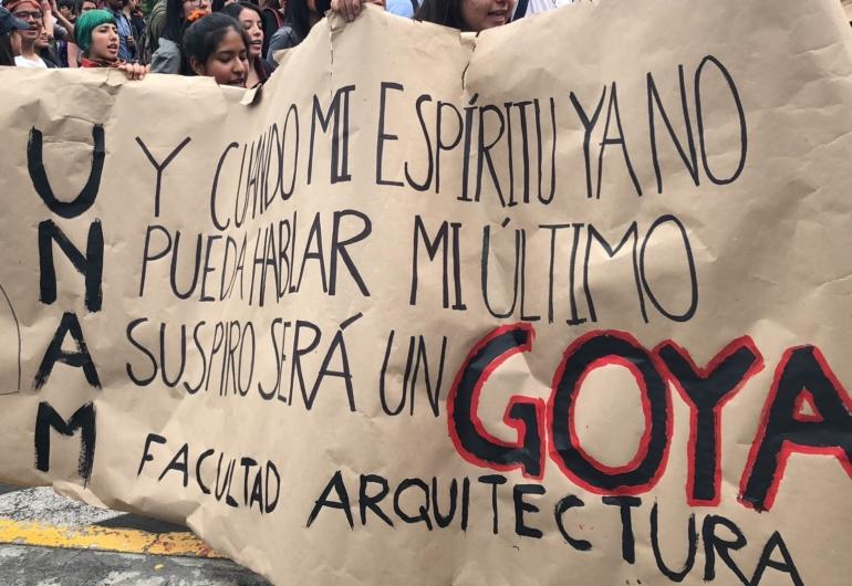 ¡Fuera porros de la UNAM!