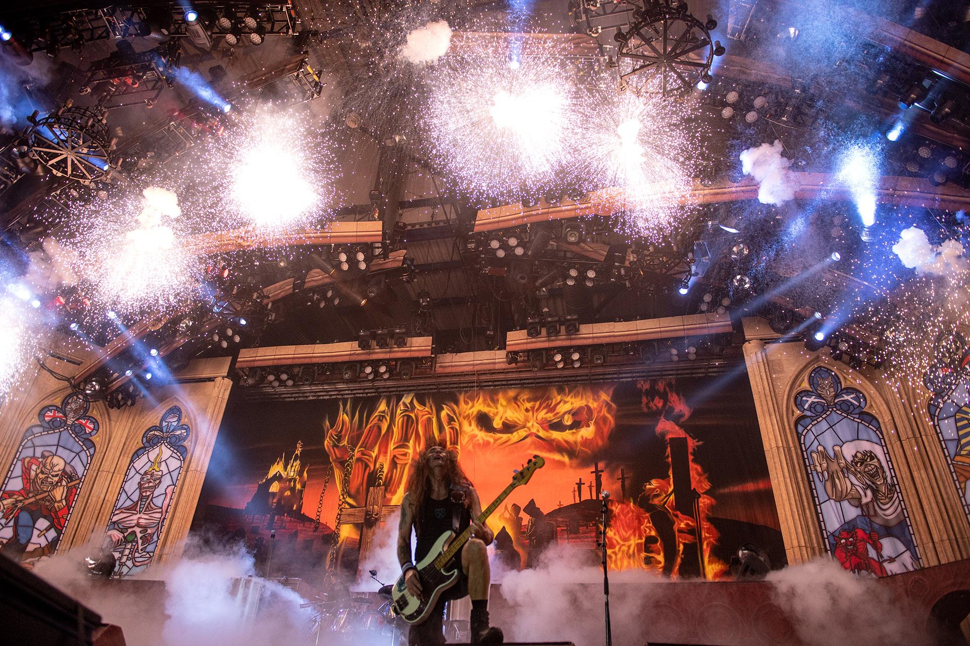 Iron Maiden regresa al Palacio de los Deportes