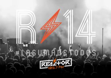 ¡Reactor 105.7 celebrará 14 años de Rockear tus oídos!