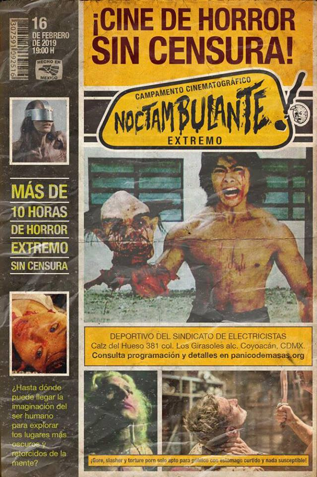 Cine de horror extremo y sin censura en la CDMX