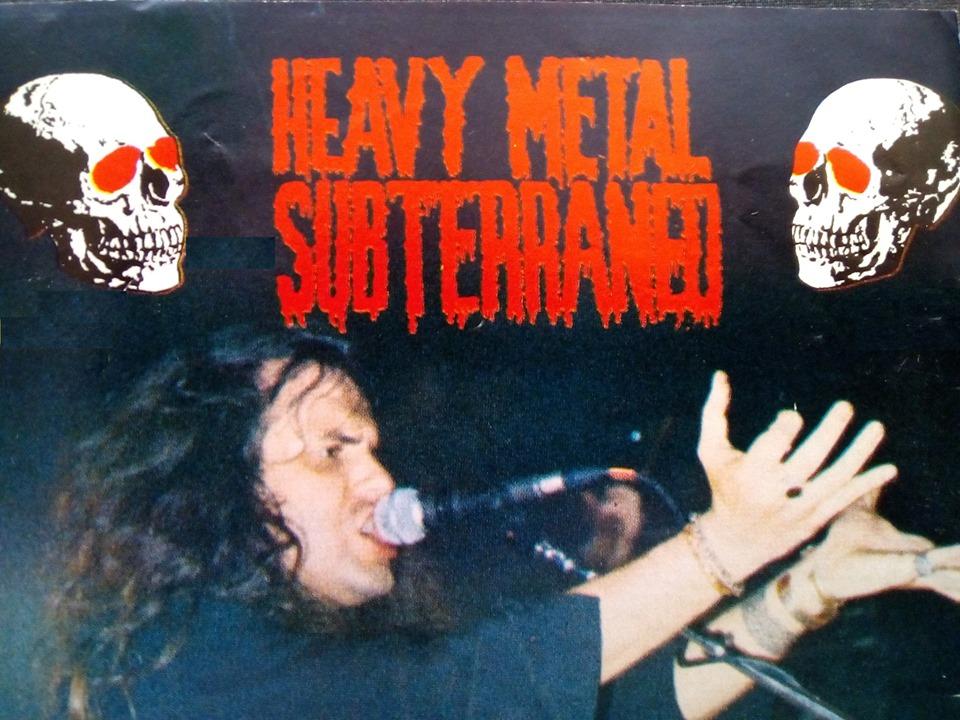 Presentación del libro: Heavy Metal Subterráneo. Vol. 1