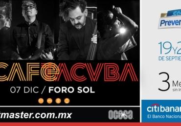Café Tacvba • Foro Sol • CDMX