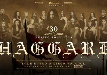 Haggard 30 Aniversario • Circo Volador • CDMX
