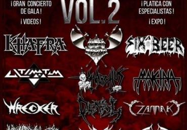 Presentación del libro: Heavy Metal Subterráneo Vol. 2 • Circo Volador • CDMX