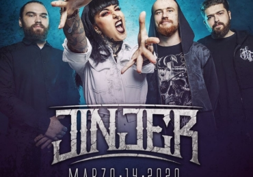 Jinjer • Foro Independencia • Gdl