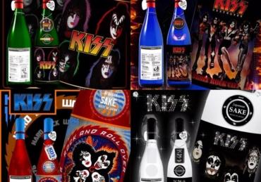KISS lanza su primer serie de Sake y ya está a la venta