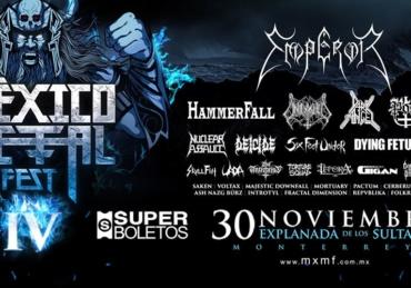 México Metal Fest IV • Explanada de Los Sultanes • Monterrey, NL