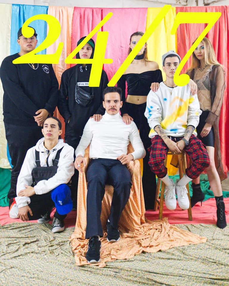 El rapero mexicano Simpson Ahuevo presenta su colaboración con Robot: «24/7»