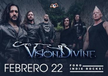 Vision Divine • Foro Indie Rocks! • CDMX