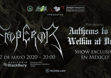 Emperor • Auditorio BlackBerry • CDMX
