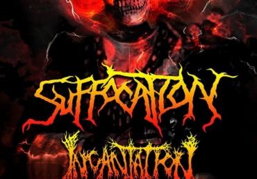 Suffocation & Incantation • Café Iguana • Mty, NL