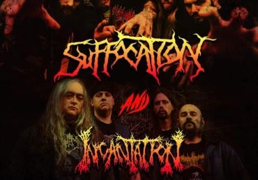 Suffocation & Incantation • Foro Indie Rocks! • CDMX