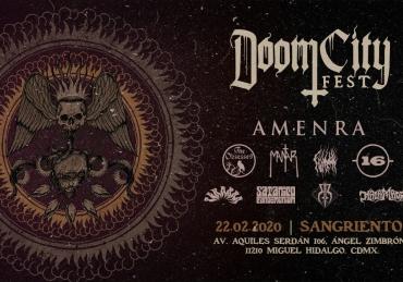 Doom City Fest en Sangriento • CDMX