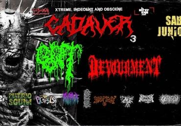 Festival Cadaver 3 • Foro San Rafael • CDMX