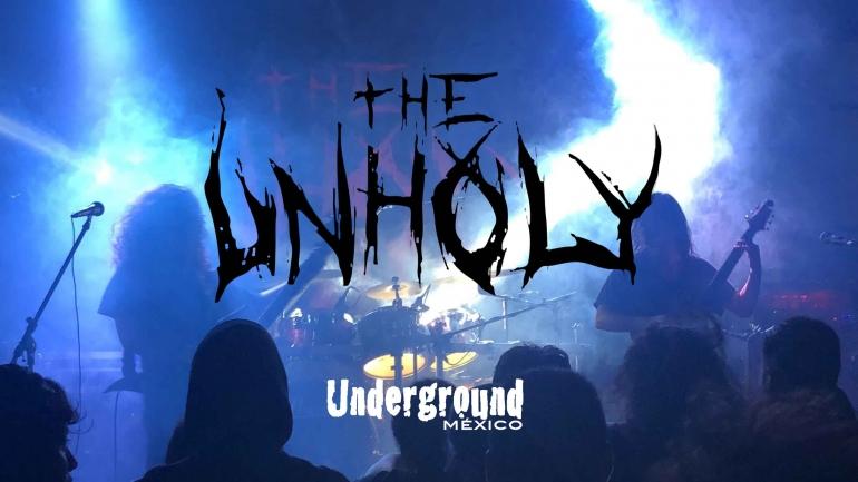 Nos metimos al mosh en la presentación Enmity de The Unholy