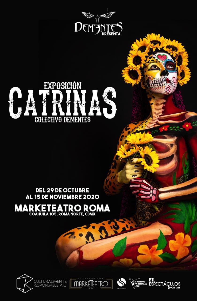 EXPOSICIÓN DE CATRINAS- BANNER